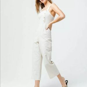 Sky and Sparrow linen jumpsuit